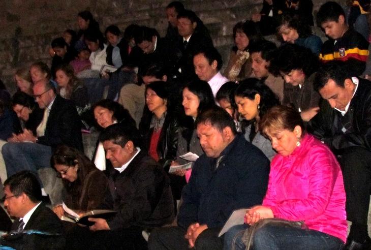 Culto de Acción de Gracias en el JG de El Agustino
