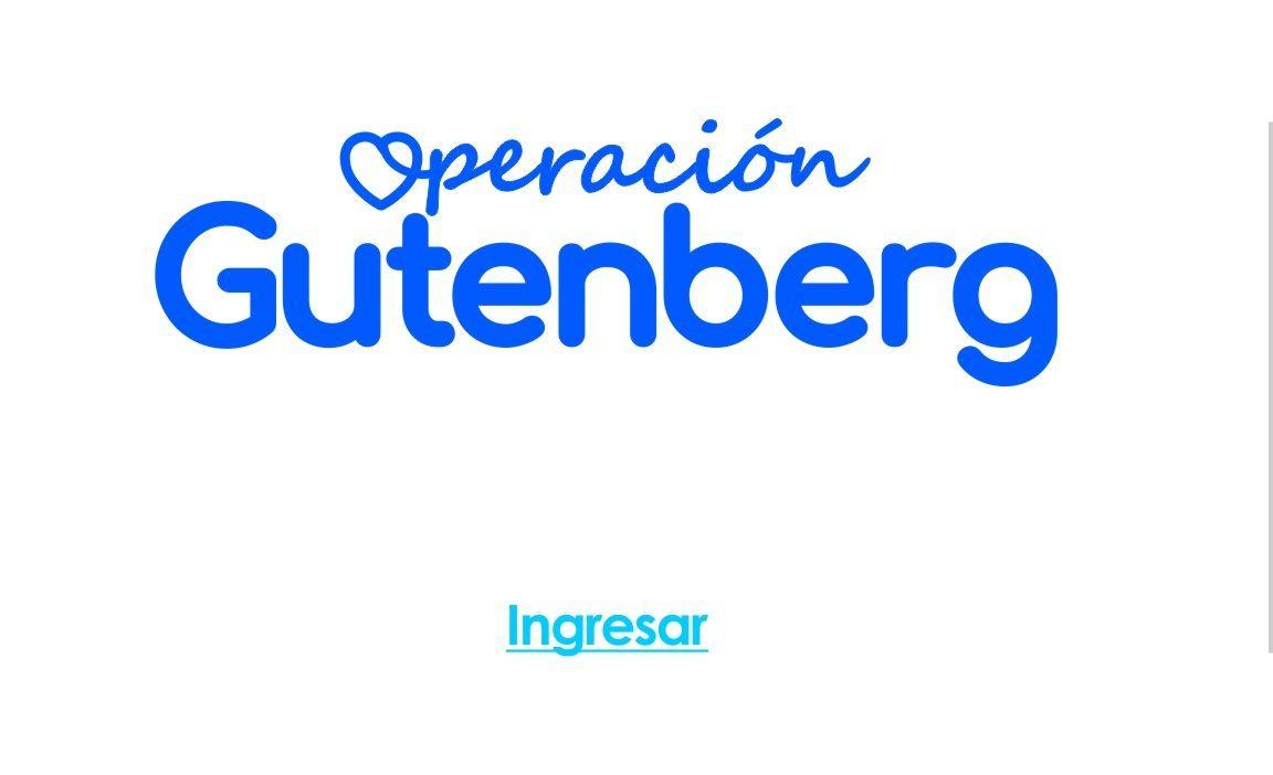 Operación Gutenberg